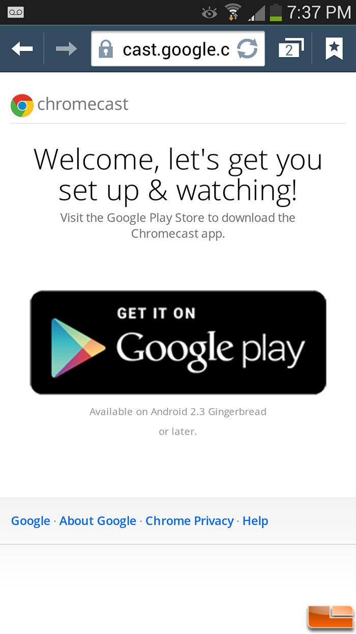 Google Chromecast Review - Easy Wireless Streaming - Page 2