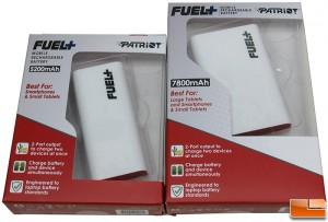 Afforable Patriot Fuel+ Battery Packs