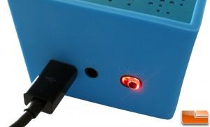 AMP SP1 Power Button