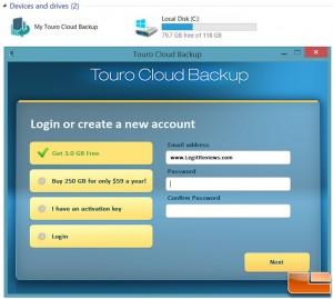 HGST Touro Cloud Backup