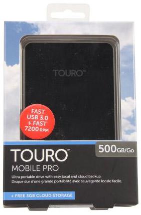 HGST TOURO Pro HDD