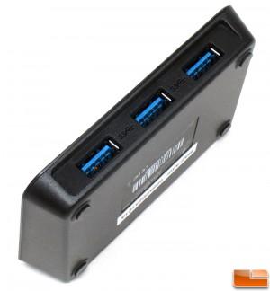Vantec 3-Port USB 3.0 Hub Ports