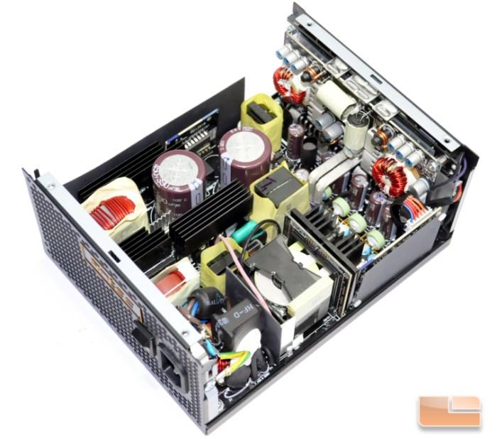 Inside the HCP-850 Platinum unit