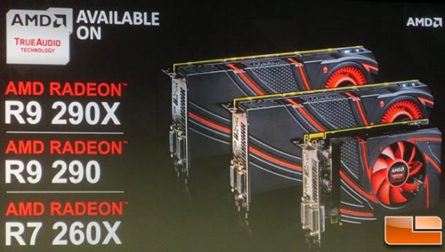 AMD Radeon TrueAudio Cards