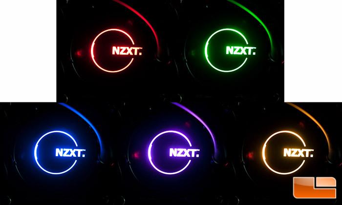 NZXT Kraken Pump LED Colors