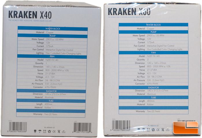 NZXT Kraken Package Left