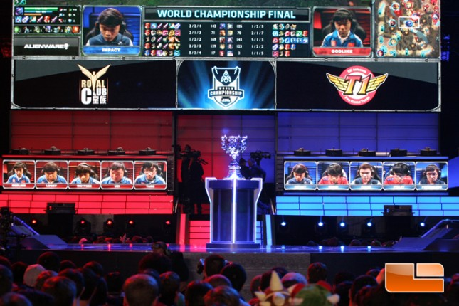 LCS Season 3 Worlds