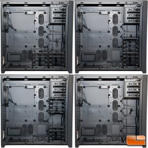 Corsair Obsidian 750D Several HDD Bay Configurations