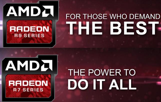 AMD Radeon R7 R9 Series