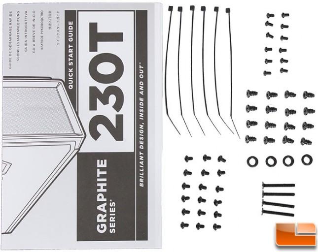 Graphite 230T Accessories