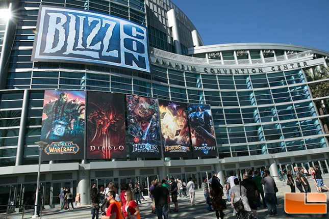 BlizzCon 2013 Convention Hall