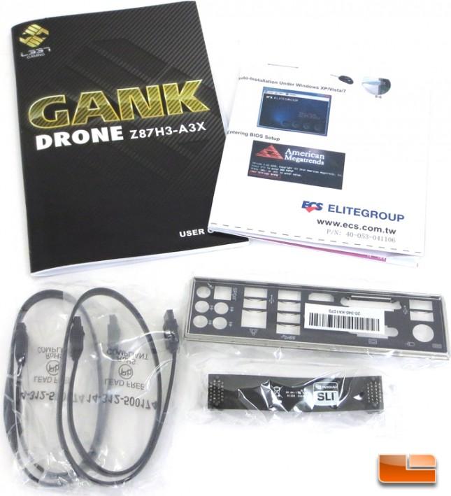 GANK Drone Z87H3-A3X Retail Packaging