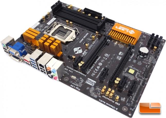 GANK Drone Z87H3-A3X Intel Z87 Motherboard Layout