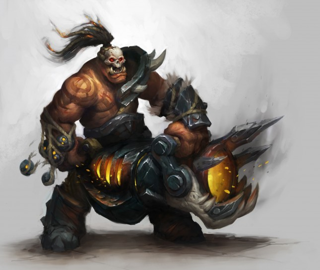 BlizzCon WoW Warlords of Draenor