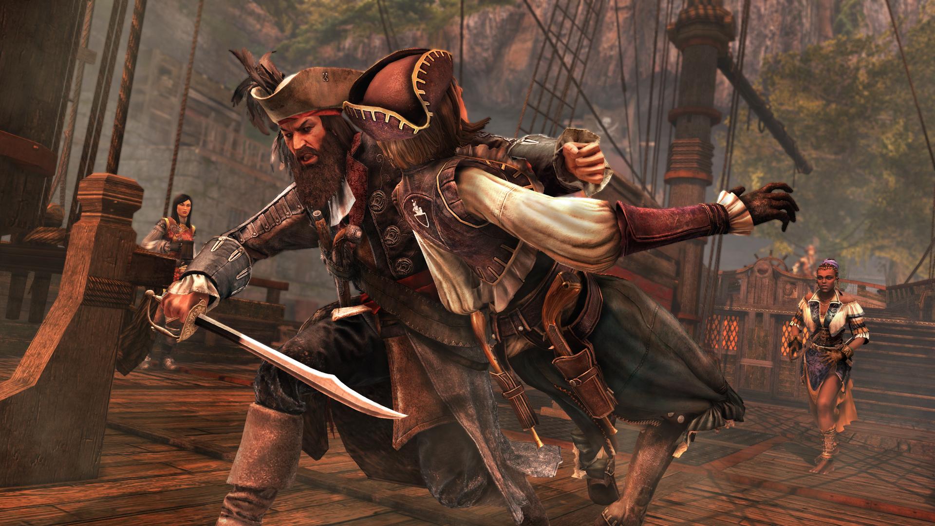 Assassin S Creed Iv Black Flag Blackbeard S Wrath Add On Content