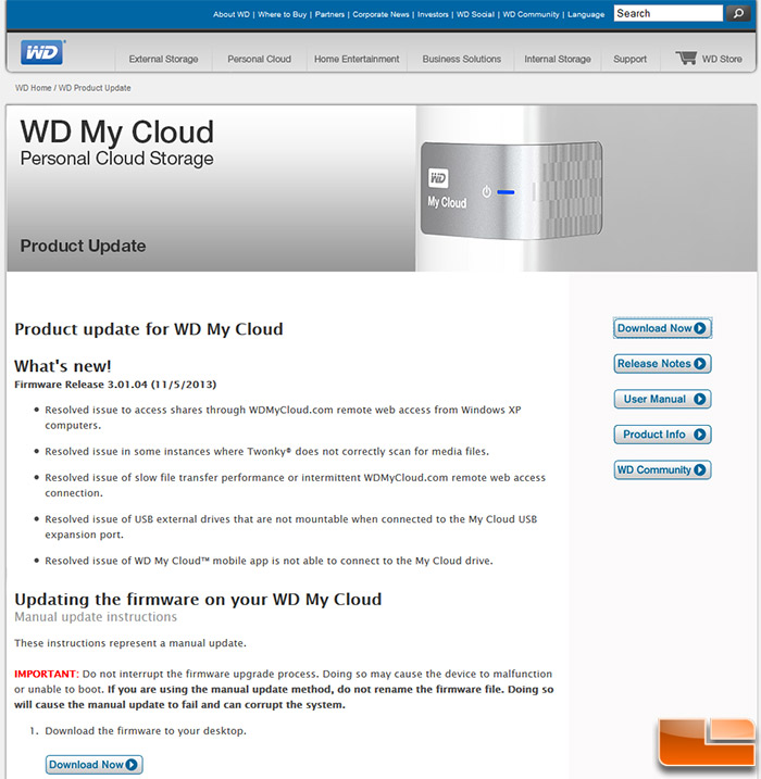 Western Digital My Cloud 2TB NAS ReviewWD My Cloud: In the