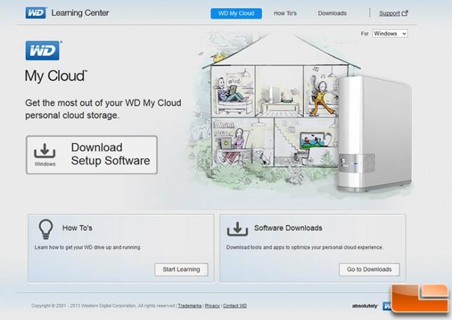 Western Digital My Cloud 2tb Nas Reviewwd My Cloud In The Box Setup