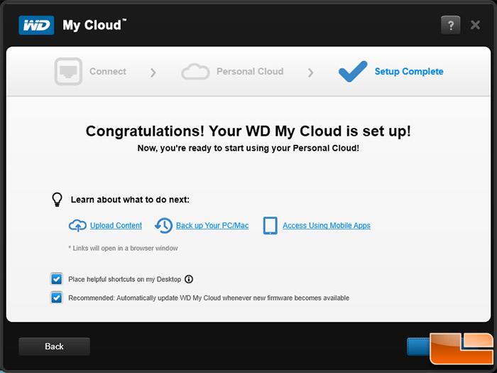 Western Digital My Cloud 2TB NAS ReviewWD My Cloud: In the