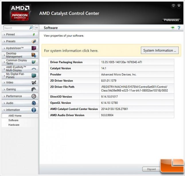 AMD Catalyst Control Center 14.1