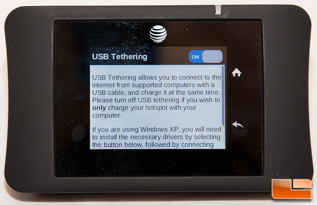 AT&T Unite Pro USB Tethering