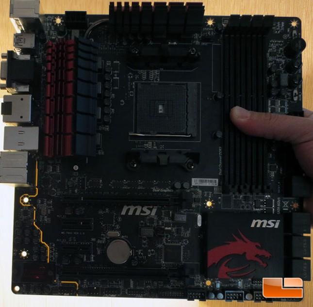 MSI A88X FM2 Gaming mATX Motherboard