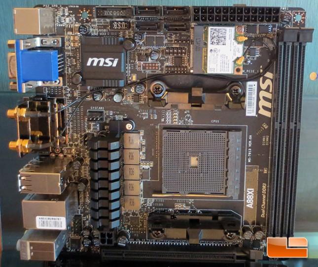 MSI A88X FM2 mini-ITX Motherboard