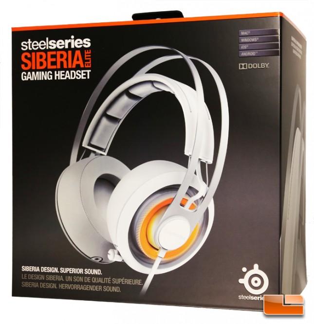SteelSeries Siberia Elite Gaming Headset