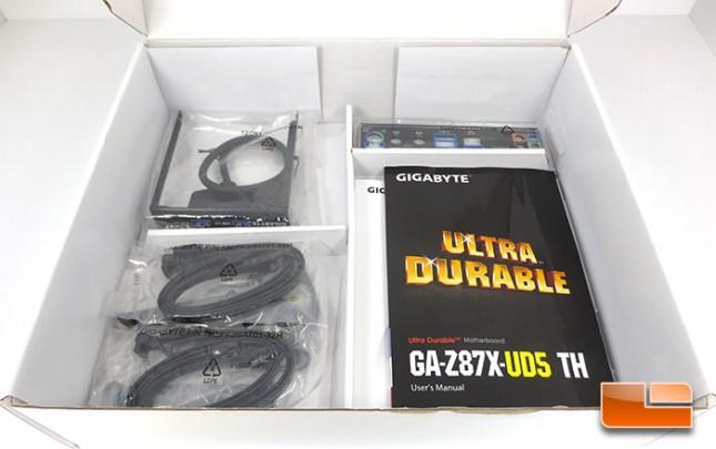 GIGABYTE Z87X-UD5 TH Retail Bundle