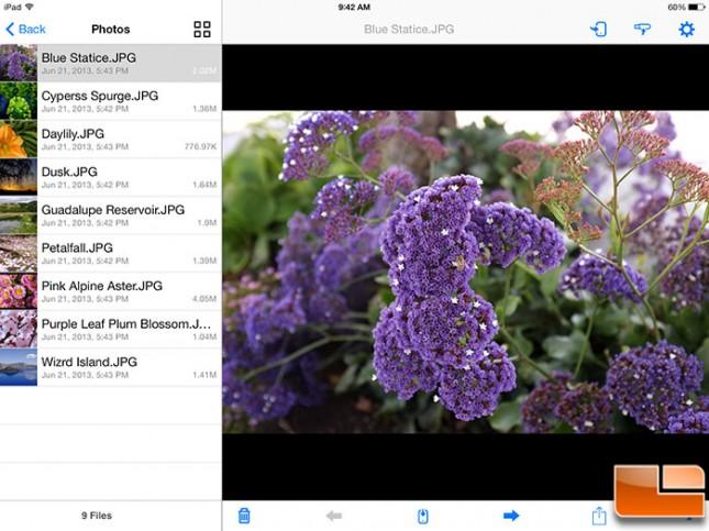 SanDisk Wireless Flash iOS Photos