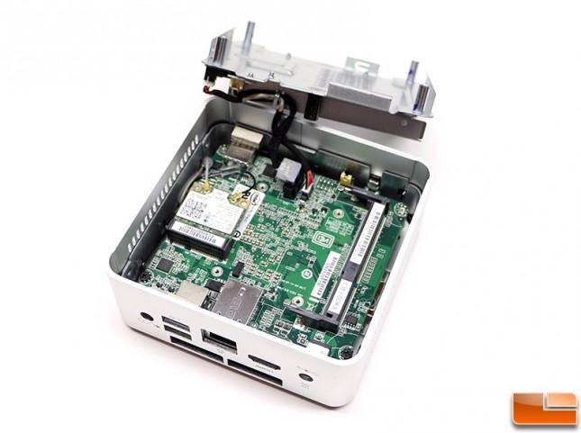 Intel NUC DN2820FYKH Tray