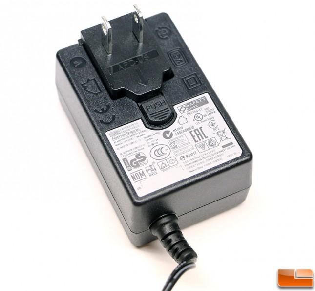 Intel NUC Kit DN2820FYKH AC Power Adapter