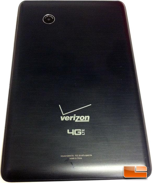 Verizon Ellipsis 7 4G LTE Tablet