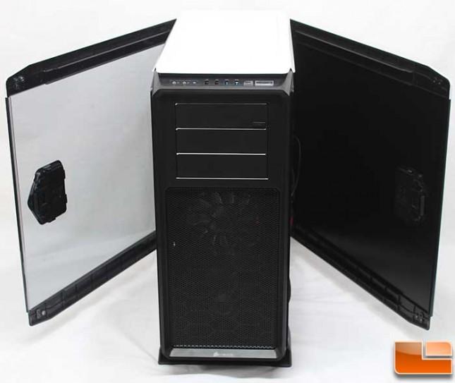 Corsair Graphite 760T Panels Open