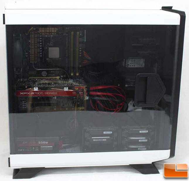 Corsair Graphite 760T Install Window View