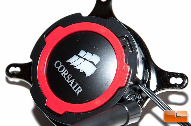 Corsair H105 Pump Accent Ring