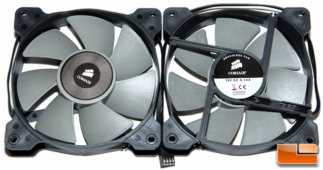 Corsair H105 Fans