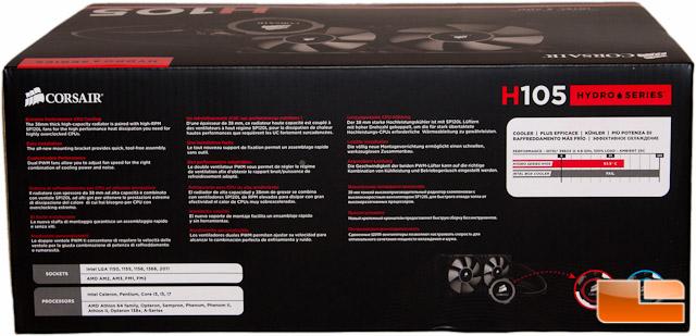 Corsair H105 Box