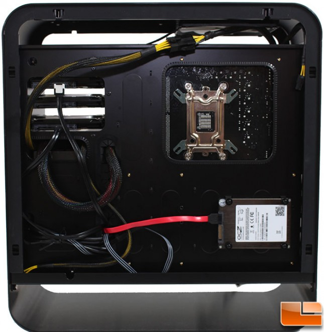 Rosewill Legacy MX2 Install MB Tray