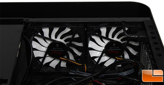 Rosewill Legacy MX2 Bottom Fans