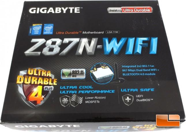 Cyberpower Zeus Mini-I 780 GIGABYTE Z87N-WiFi