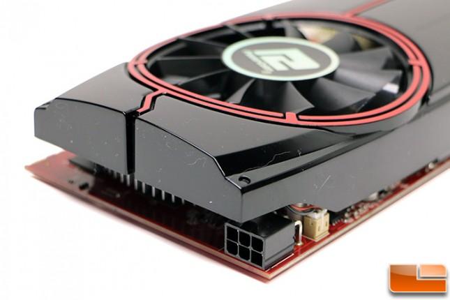 PowerColor AXR7 250X Power Connector