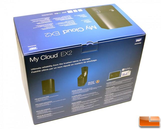 WD My Cloud EX2 Box