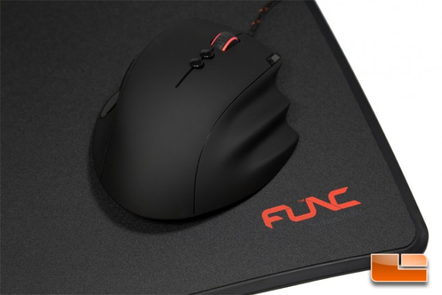 Func MS-3 Gaming Mouse and 1030-2 Mouse Pad