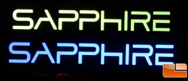 Sapphire Vapor-X R9 290 Logo Color Change