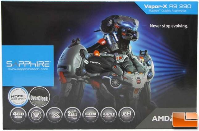 Sapphire Vapor-X R9 290 OC Box Front