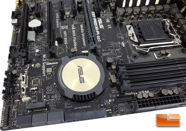 ASUS Z97 Pro Motherboard Layout