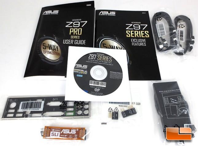 ASUS Z97-Pro [Wi-Fi ac] Retail Bundle