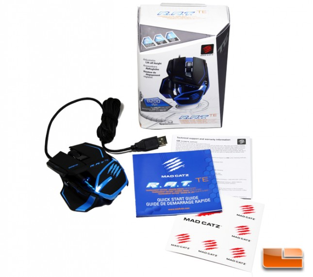 Mad Catz R.A.T. TE Gaming Mouse