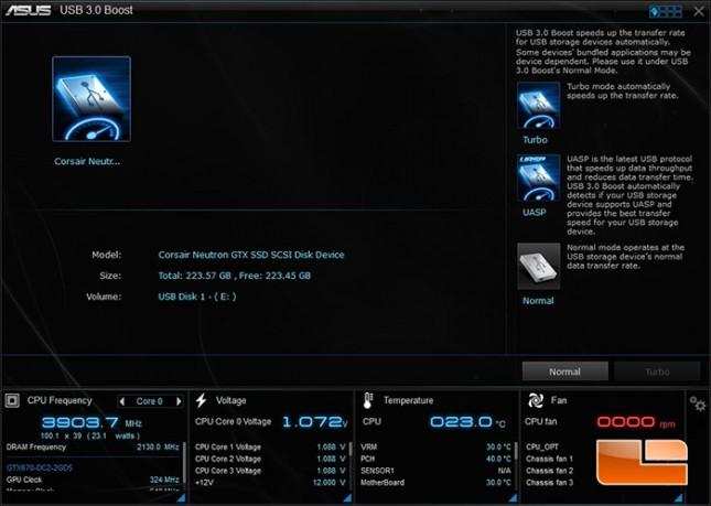 ASUS AI Suite USB 3.0 Boost