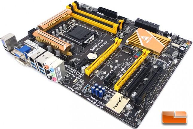 BIOSTAR Hi-Fi Z97WE Intel Z97 Motherboard Layout